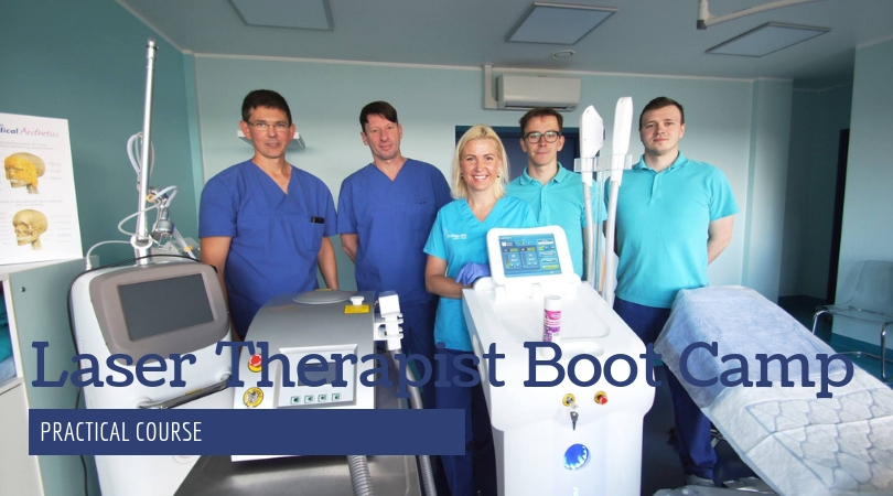 Laser therapist boot camp